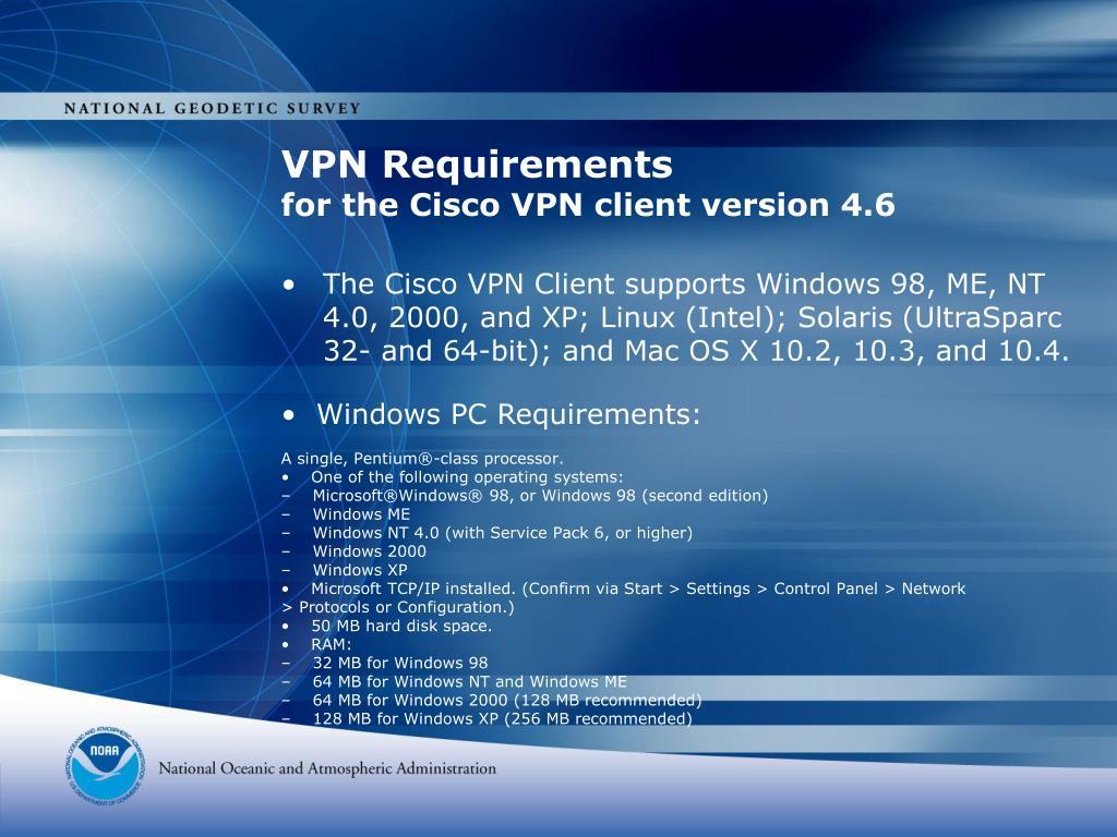VPN Requirements