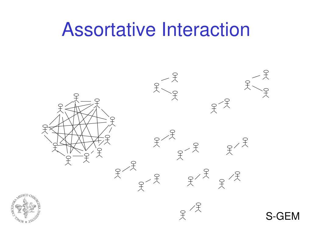 Assortative Interaction