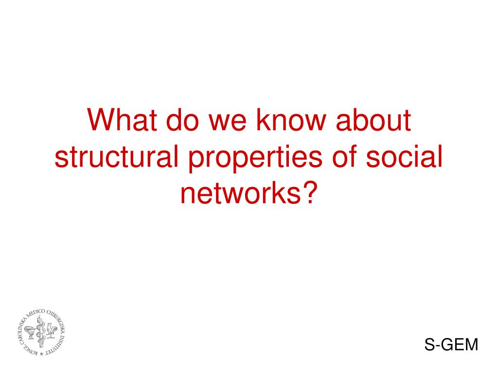 What do we know about structural properties of social networks?