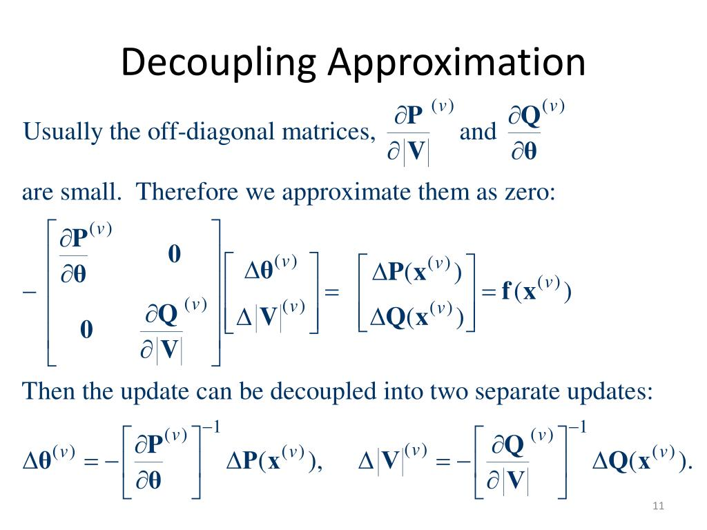 Decoupling Approximation