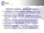 eua press relations setting the scene 29