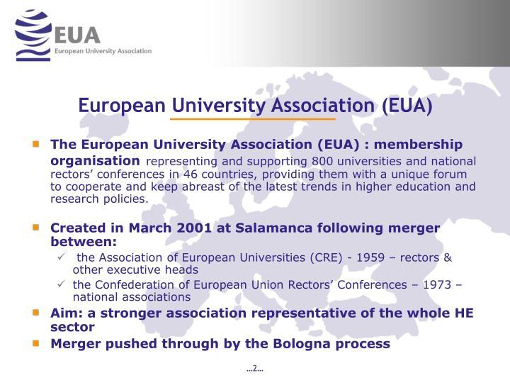 European university association eua