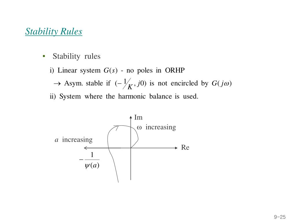 Stability Rules