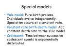 special models