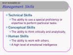 what managers do management skills