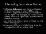interesting facts about rome15