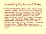 interesting facts about rome9