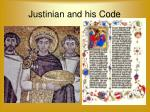 justinian and his code