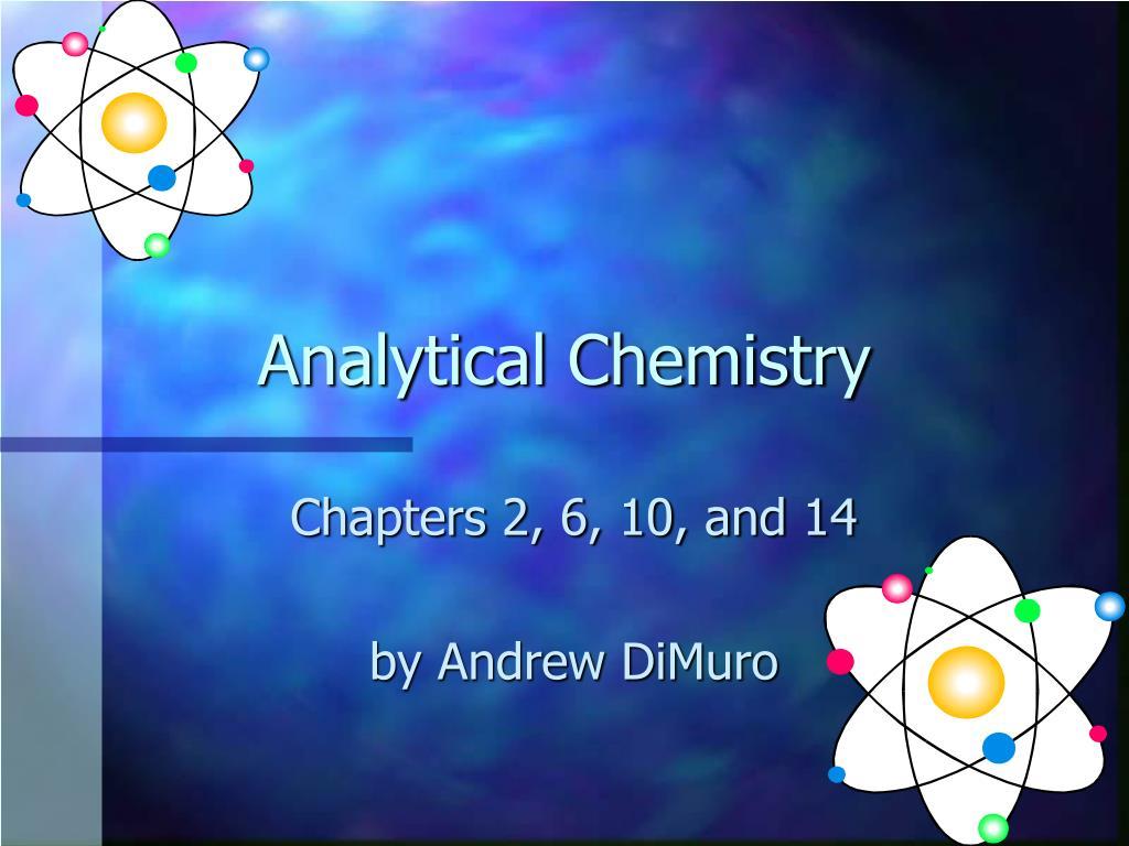 analytical chemistry l.