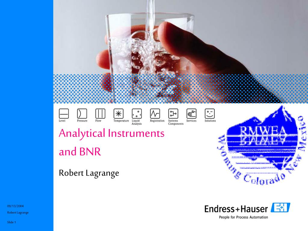 analytical instruments and bnr l.