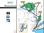 nyc watersheds