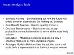 impact analysis tools