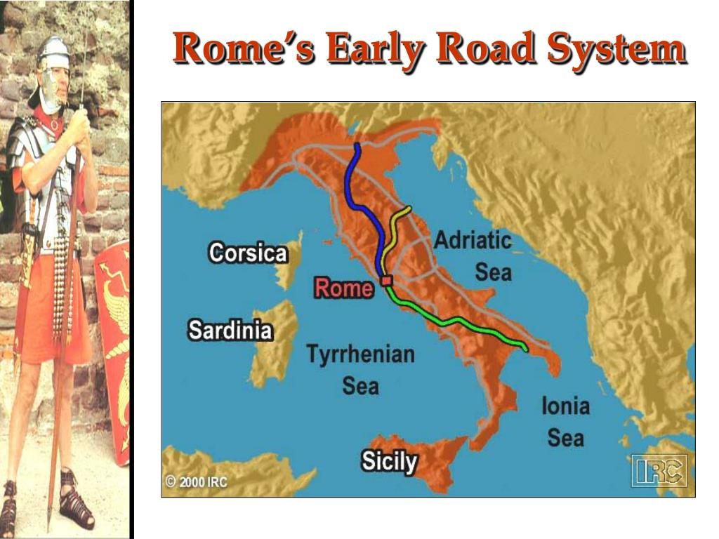 Rome's Early Road System