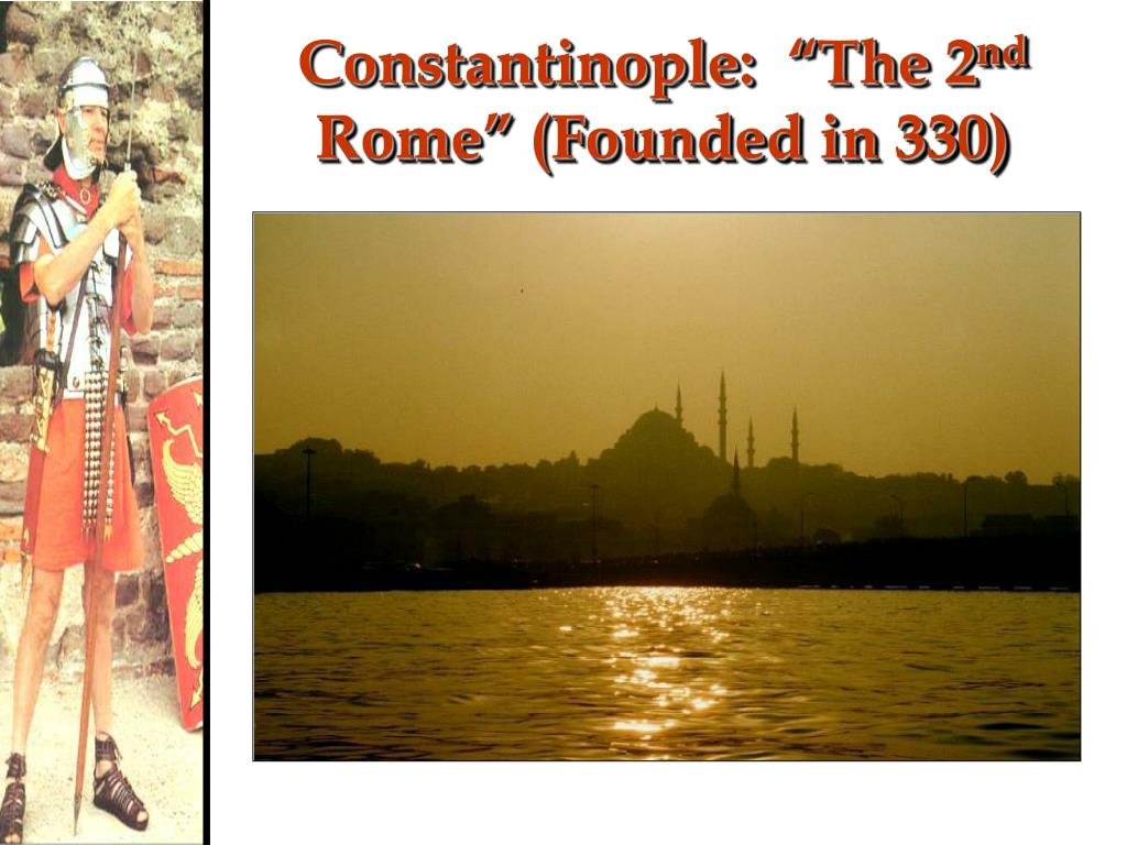 "Constantinople:  ""The 2"