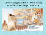 carnine douglas and et al world history evanston il mcdougal littell 2009