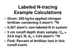 labeled n tracing example calculations