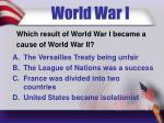 world war i2