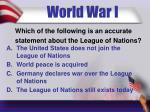world war i3
