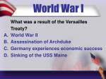 world war i4