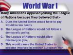 world war i6