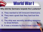 world war i7