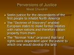 perversions of justice ward churchill