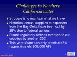 challenges to northern california water26