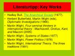 literaturtipp key works