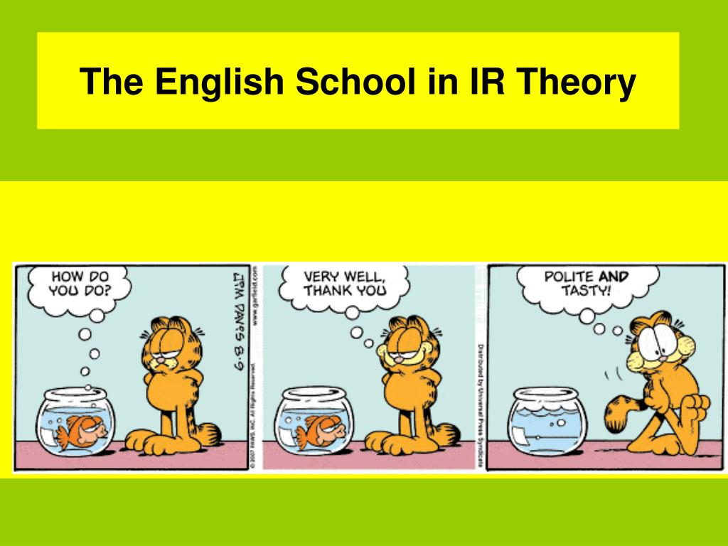 the english school in ir theory l.