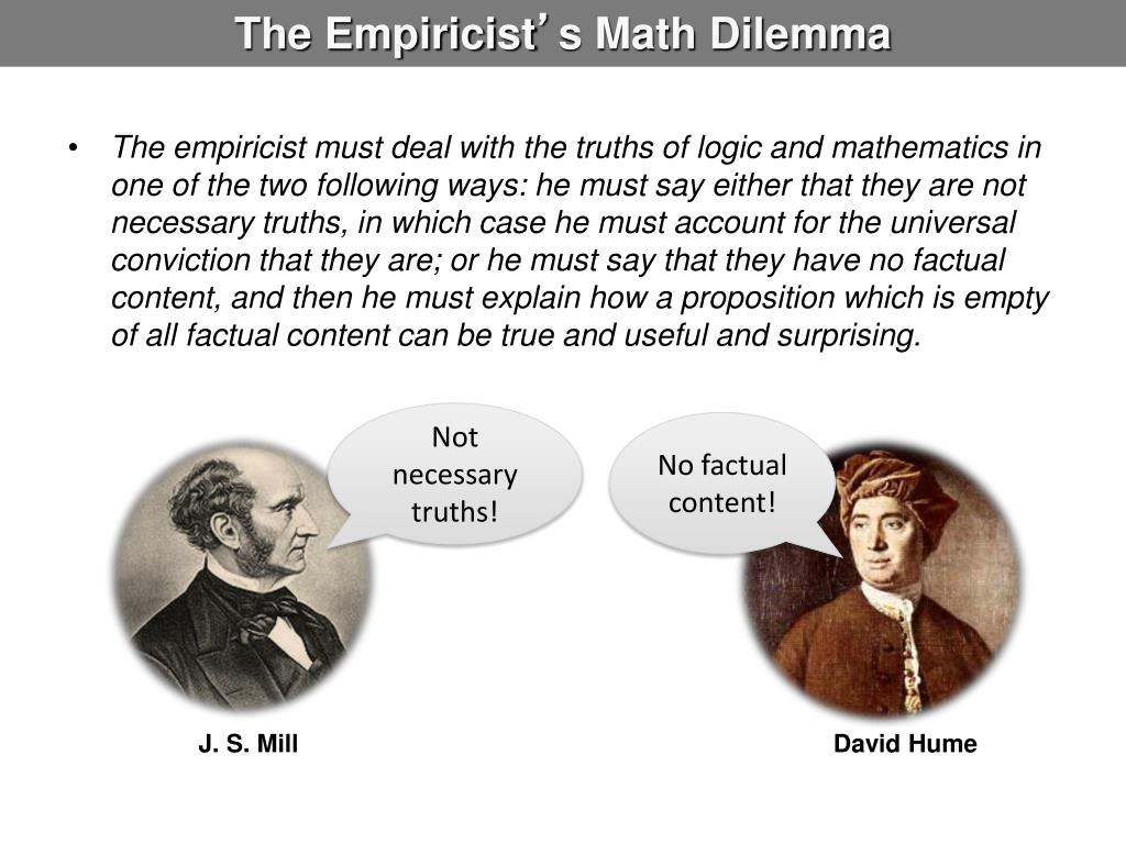The Empiricist