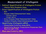 measurement of vitellogenin
