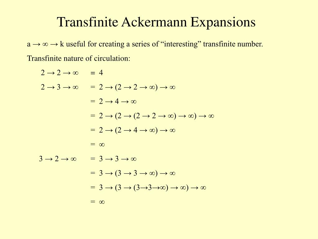 Transfinite Ackermann Expansions