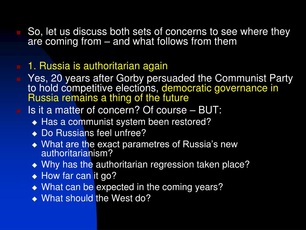 So, let us discuss both sets of concerns to see where they are coming from – and what follows from them