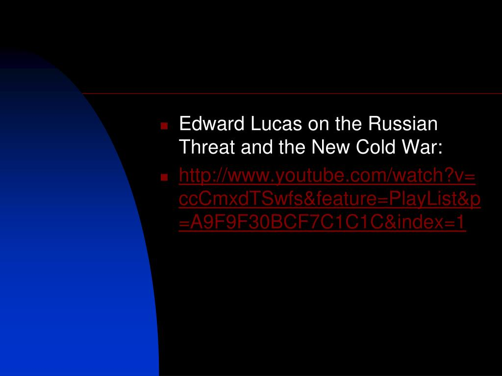 Edward Lucas on the Russian Threat and the New Cold War: