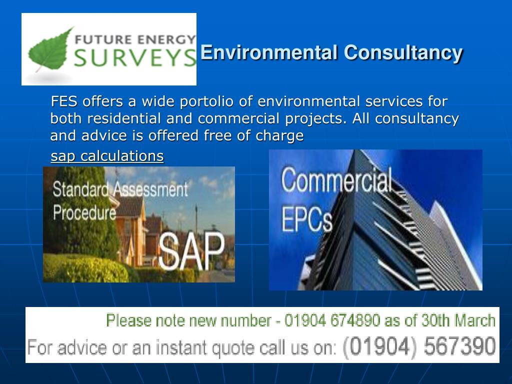 environmental consultancy l.