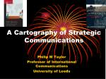 a cartography of strategic communications