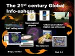 the 21 st century global info sphere