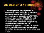 us dod jp 3 13 2006