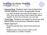 teaching synthetic phonics www synthetic phonics com10
