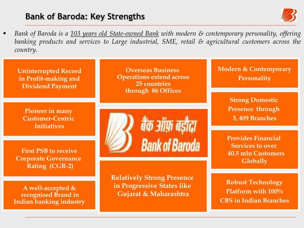 Bank of Baroda: Key Strengths