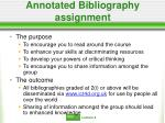 annotated bibliography assignment20