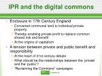 ipr and the digital commons
