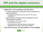 ipr and the digital commons16