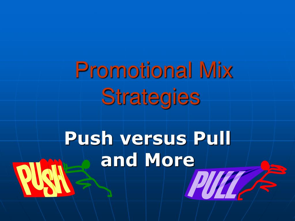 promotional mix strategies l.