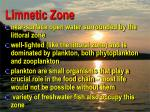 limnetic zone
