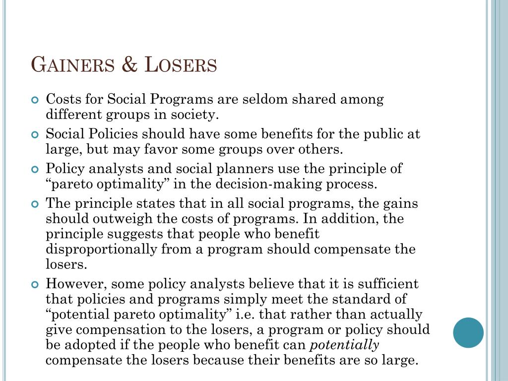 Gainers & Losers