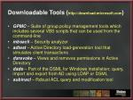 downloadable tools http download microsoft com