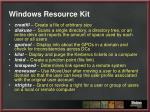 windows resource kit