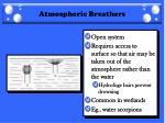 atmospheric breathers