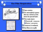 gas film respiration